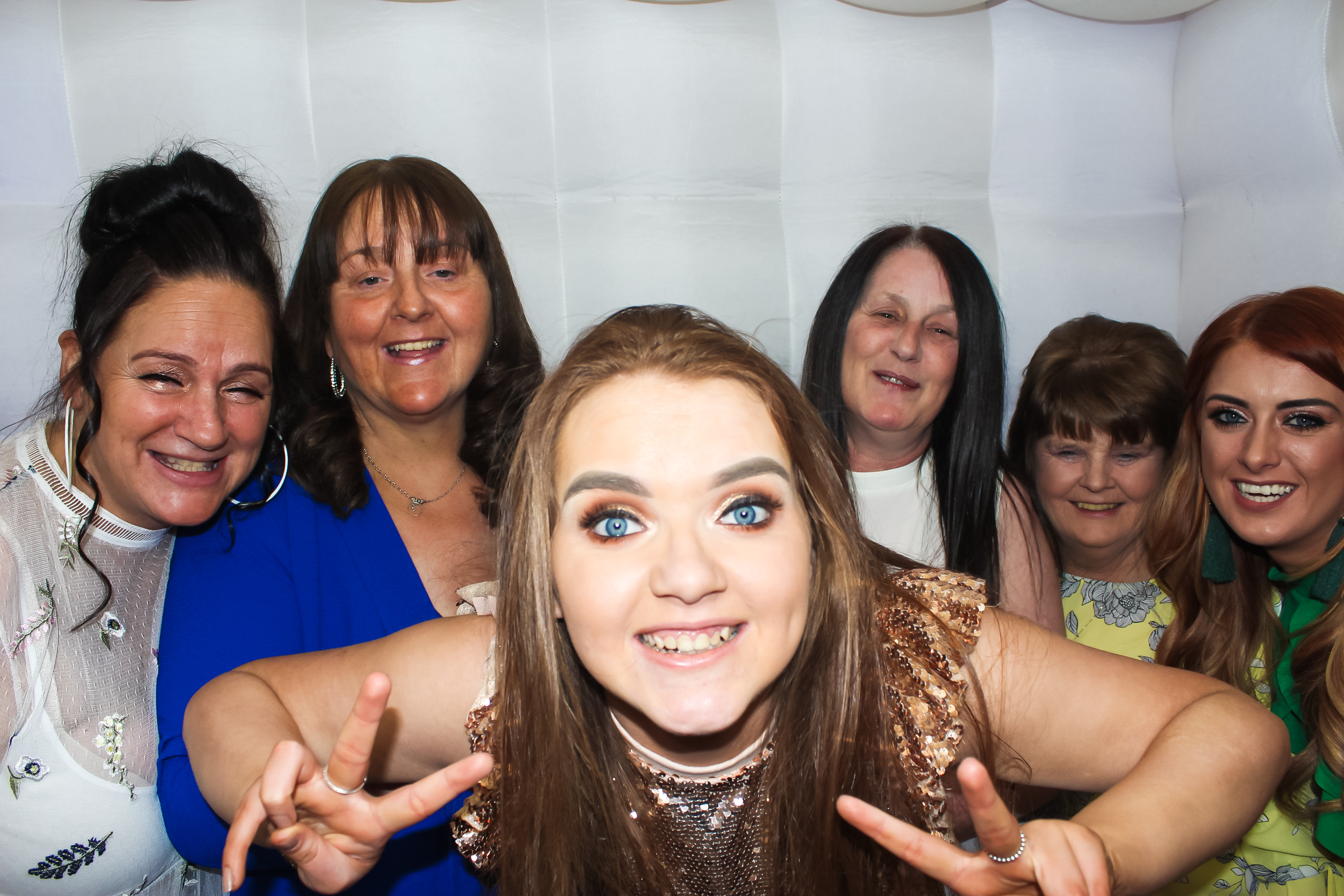 Photo From Flora's 50th birthday , photo booth hire Nitshill