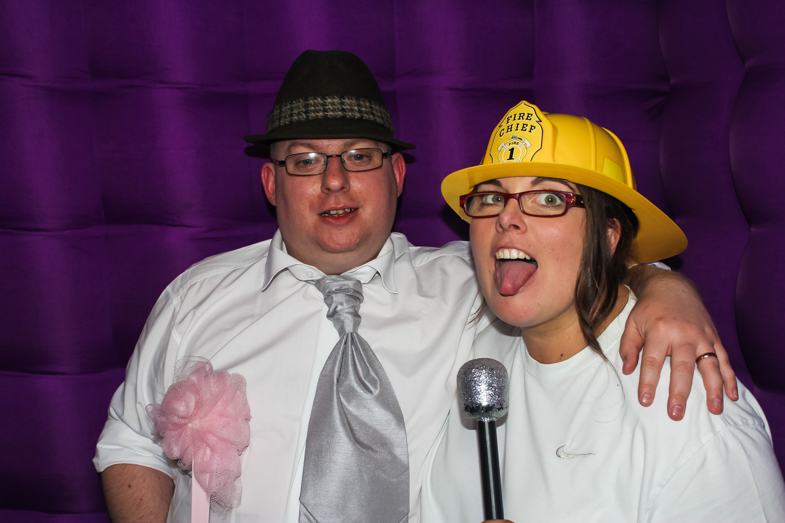 photo booth hire for a wedding