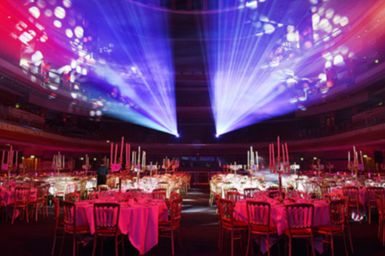 View our range or services for corporate and non private events