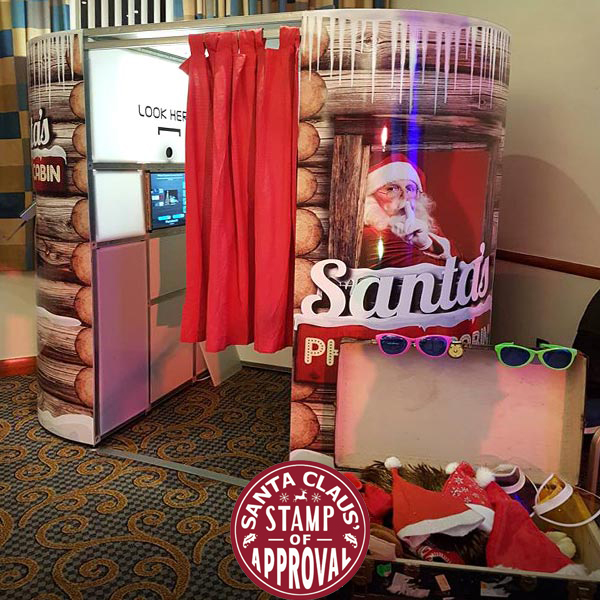Hire a Photo Booth for a Christmas Party